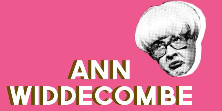 Fagulous as Ann Widdecombe