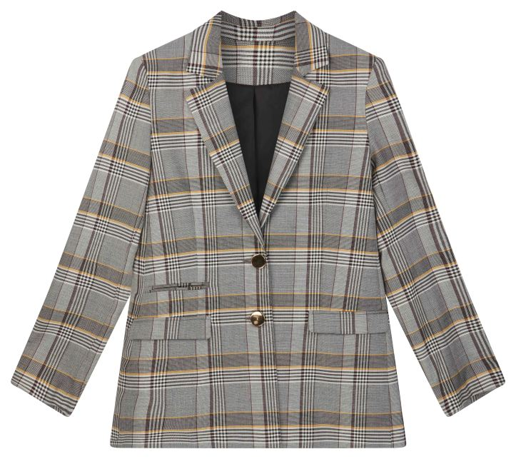 ASOS Double Breasted Bold Check Blazer - £55.jpg