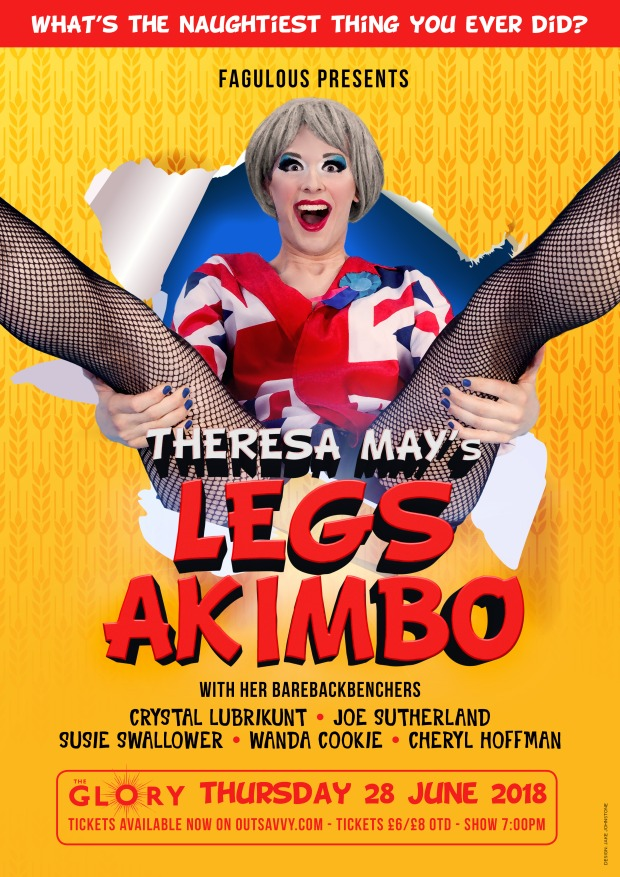 Fagulous Theresa May Drag Queen