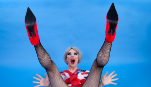 Fagulous, Theresa May's Legs Akimbo, Photo: Holly Revell