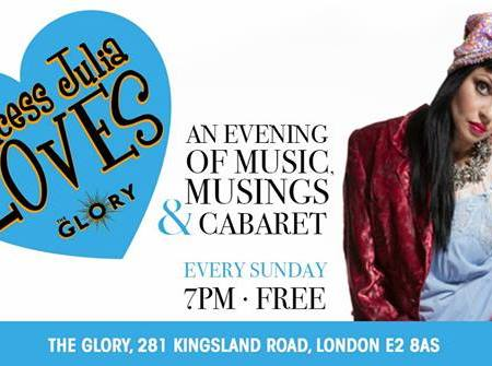 Fagulous to perform at Princess Julia Loves at The Glory