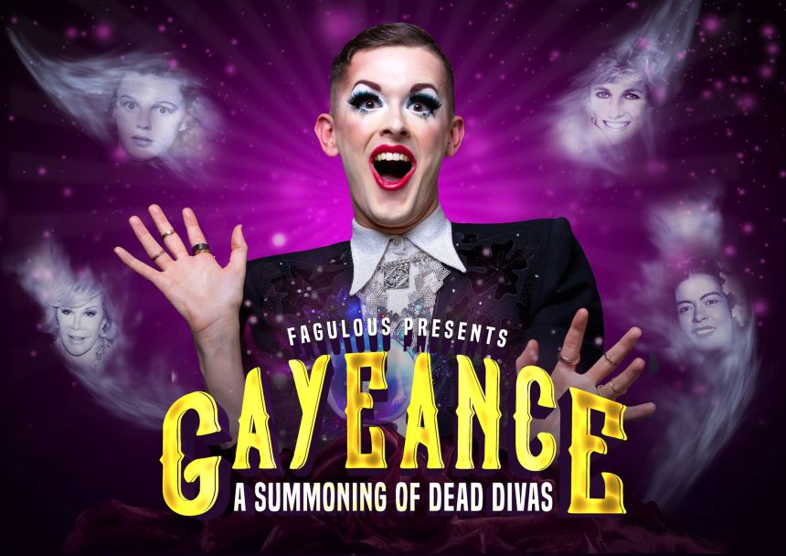 Gayeance: A Summoning of Dead Divas From Beyond the Grave at The Glory